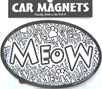 Car Magnet, Meow