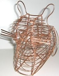 Cat Basket, Wire, Small