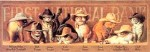 Cat Bookmark, Cowboy Cats