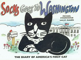 Cat Book, Socks Goes To Washington