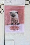 Cat Flag And Holder, Princess Lives Here, Mini