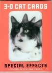 Cat Playing Cards, 3D