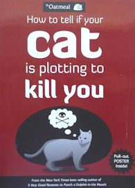 Collectible Cat Book, How To Tell If Your Cat Is Plotting To Kill You