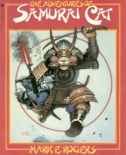 Collectible Cat Book, The Adventures of Samurai Cat