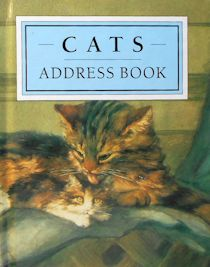 Collectible Cats Address Book