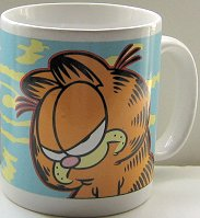 Collectible Garfield Mug, Don't Do Perky