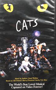 Collectible VHS Tape, Cats