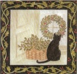 Cat Holiday Paper Napkins, Keeping Watch