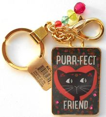 Sample, Cat Key Chain, Purr-fect Friend