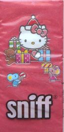 Sample, Hello Kitty Tissue, Kitty And Gifts