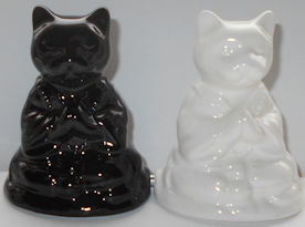 Buddha Cats Salt & Pepper Set