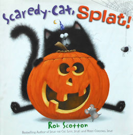 Collectible Cat Book, Scaredy-cat, Splat!
