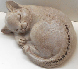 Cat Figurine, Fill Your Heart