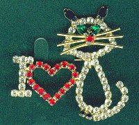 Cat Pin, I Love A Cat