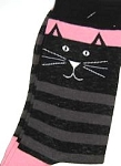 Cat Socks, Black Kitty