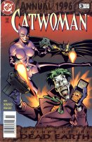 Catwoman Comic  # 3, Legends Of The Dead Earth