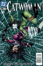 Catwoman Comic  # 49, The Great Spider Web Shred