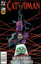 Catwoman Comic #54, The Diamond That Wouldn't Stay Stolen