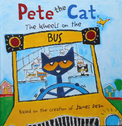Collectible Cat Book, Pete The Cat, The Wheels On The Bus