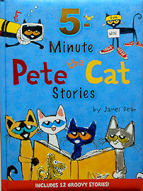 Collectible Cat Book, 5 Minute Pete The Cat Stories