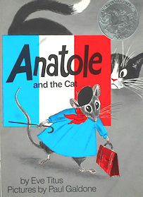 Collectible Cat Book, Anatole And The Cat