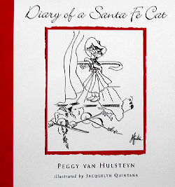 Collectible Cat Book, Diary Of A Santa Fe Cat
