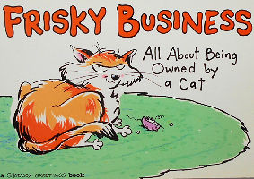 Collectible Cat Book, Frisky Business