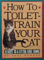 Collectible Cat Book, How To Toilet Train Your Cat