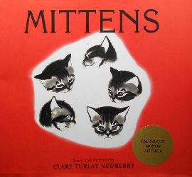 Collectible Cat Book, Mittens