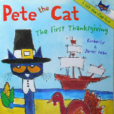 Collectible Cat Book, Pete The Cat, The First Thanksgiving