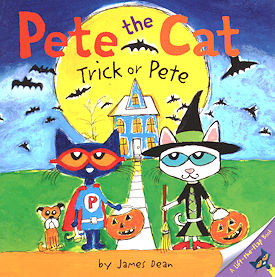 Collectible Cat Book, Pete The Cat Trick Or Pete
