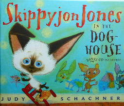 Collectible Children's Cat Book, Skippy Jones In The Dog House