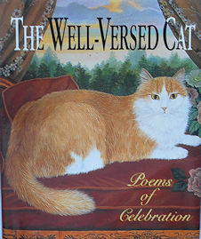 Collectible Miniature Cat Book, The Well Versed Cat
