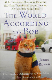 Collectible Cat Book, The World According To Bob