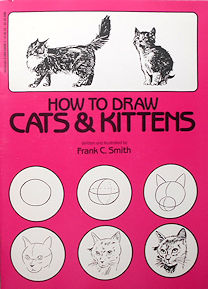 Collectible Cat Book, How To Draw Cats & Kittens