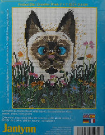 Collectible Cat Counted Cross Stitch, Gary Patterson