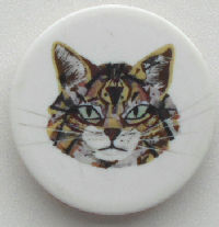 Collectible Cat Face Cell Phone Pop Up Grip
