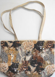 Collectible Cat Shopping Tote