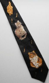Collectible Cat Tie, Three Cats
