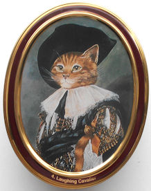 Collectible Cat Tin, Laughing Cavalier