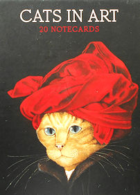 Collectible Cats In Art Note Cards