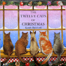 Collectible Christmas Cat Book, The Twelve Cats Of Christmas