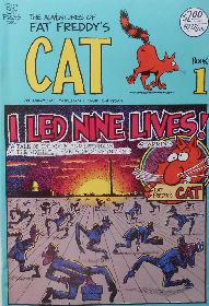 Collectible Fat Freddy's Cat Comic Book 1
