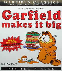 Collectible Garfield Book, Garfield Makes It Big