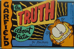 Collectible Garfield Book, The Truth About Cats