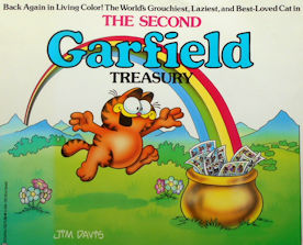 Collectible Garfield Book, The Second Treasury