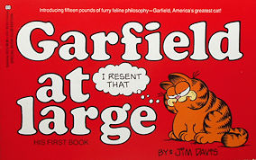 Collectible Garfield Book, Garfield At Large