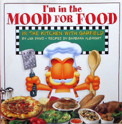 Collectible Garfield Cookbook, I'm In The Mood For Food