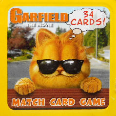 Collectible Garfield Match Game