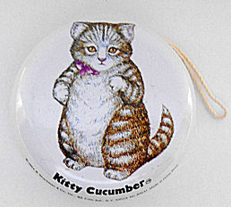 Collectible Kitty Cucumber Yo Yo